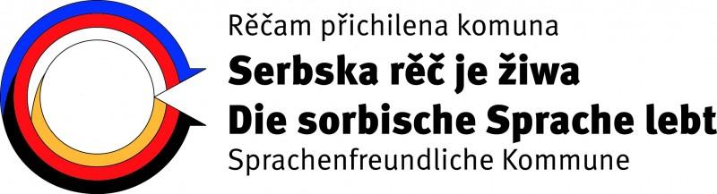 """Logo des Wettbewerbs """"Sprachenfreundliche Kommune"""""""