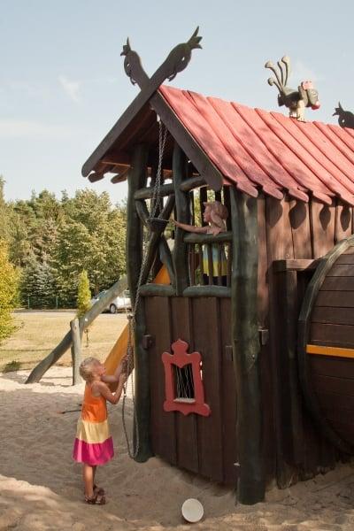 Der Pumphut-Spielplatz in Spohla