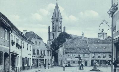 Marktplatz Wittichenau