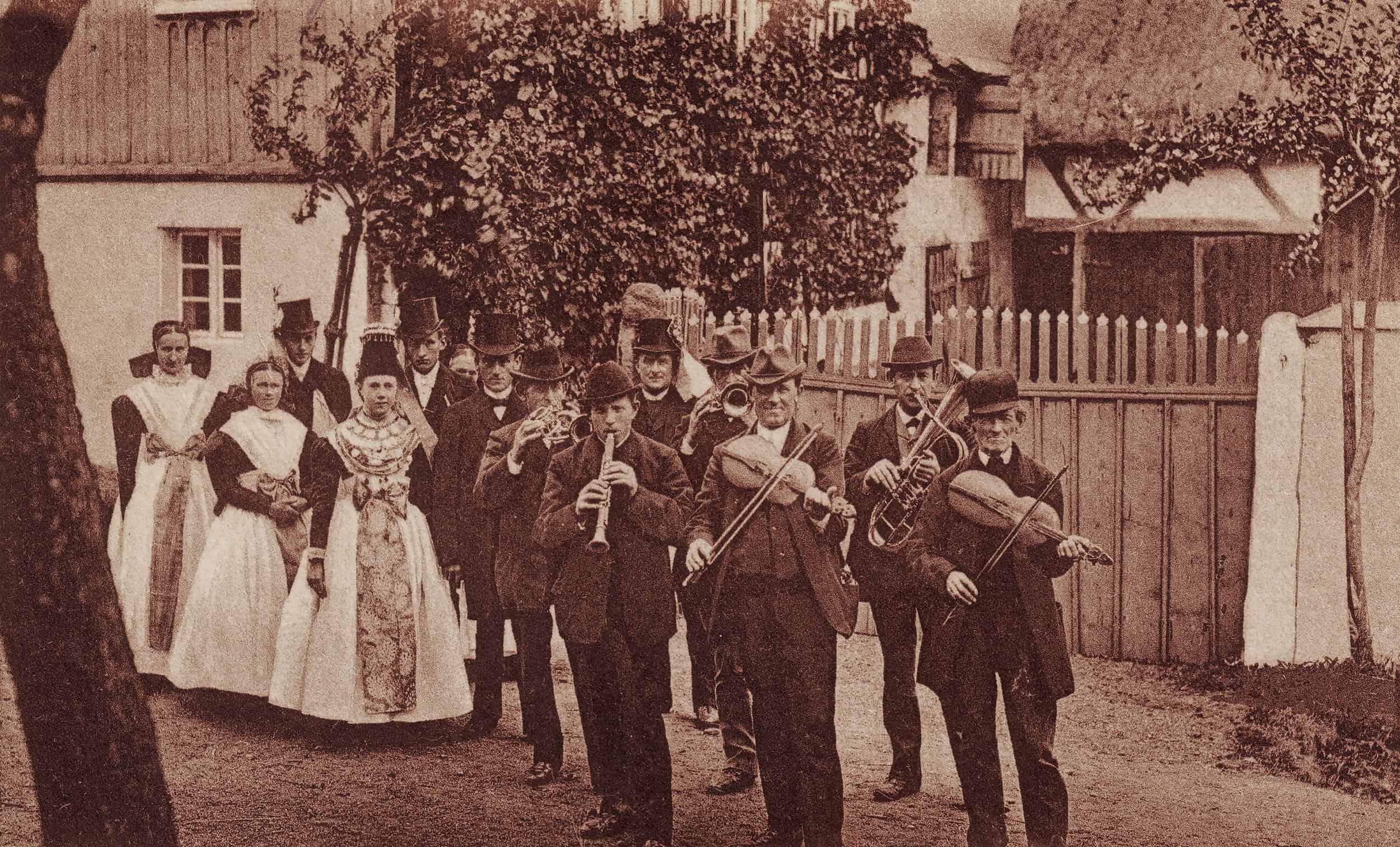 Hochzeitszug katholischer Sorben