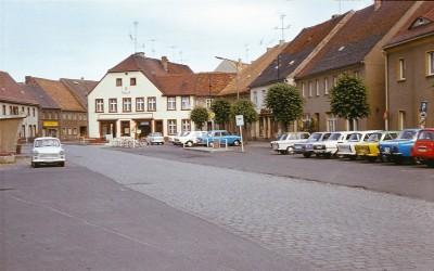 Marktansicht in der DDR