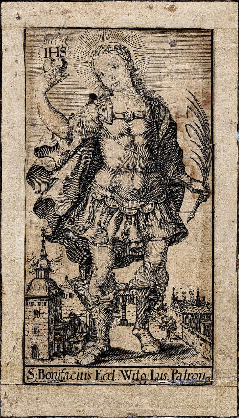 Stadtpatron Bonifatius