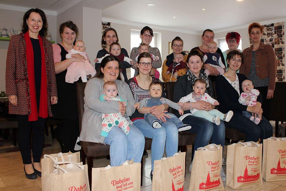 Babybegrüßung in Wittichenau