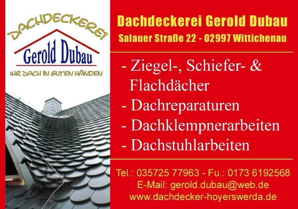 Dachdeckerei Gerold Dubau